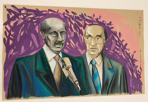 Now Comes the Hard Part (Anwar Sadat with Menachem Begin)