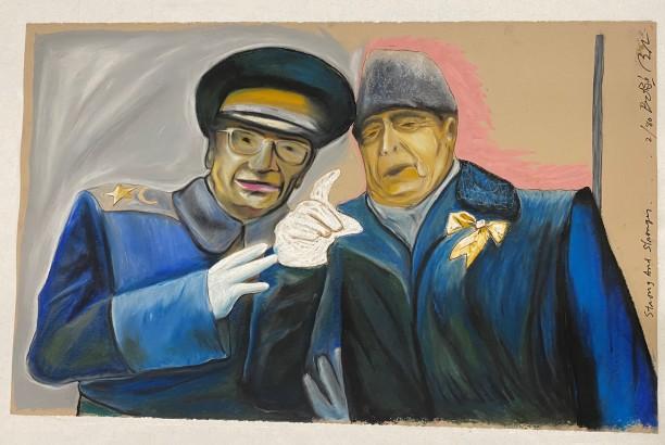 Strong and Stronger (Soviet Leader Brezhnev with Defense Minister Dmitri Ustinov)