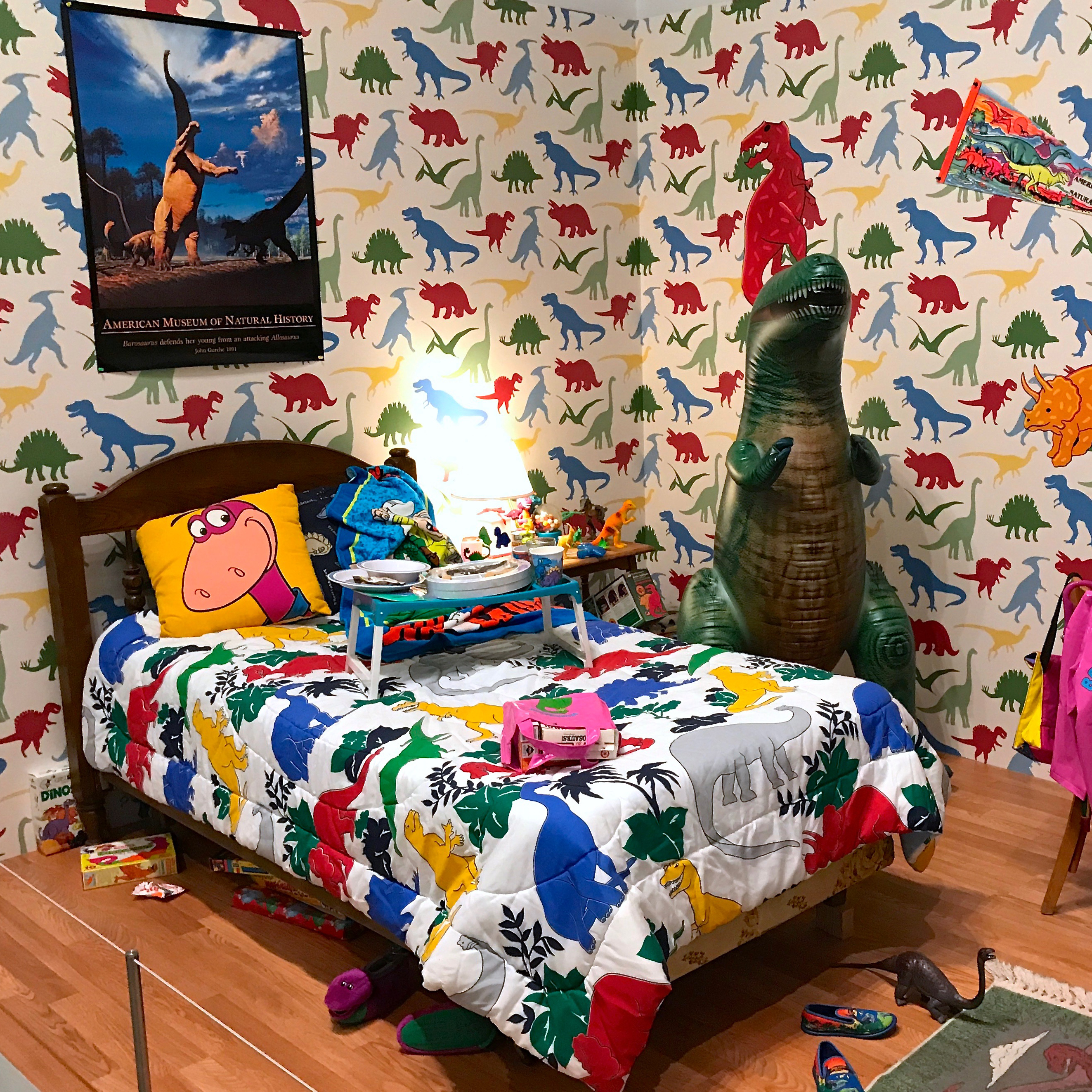 Mark Dion, When Dinosaurs Ruled the Earth (Toys 'R' U.S.), 1994, Mixed media installation, Dimensions variable.