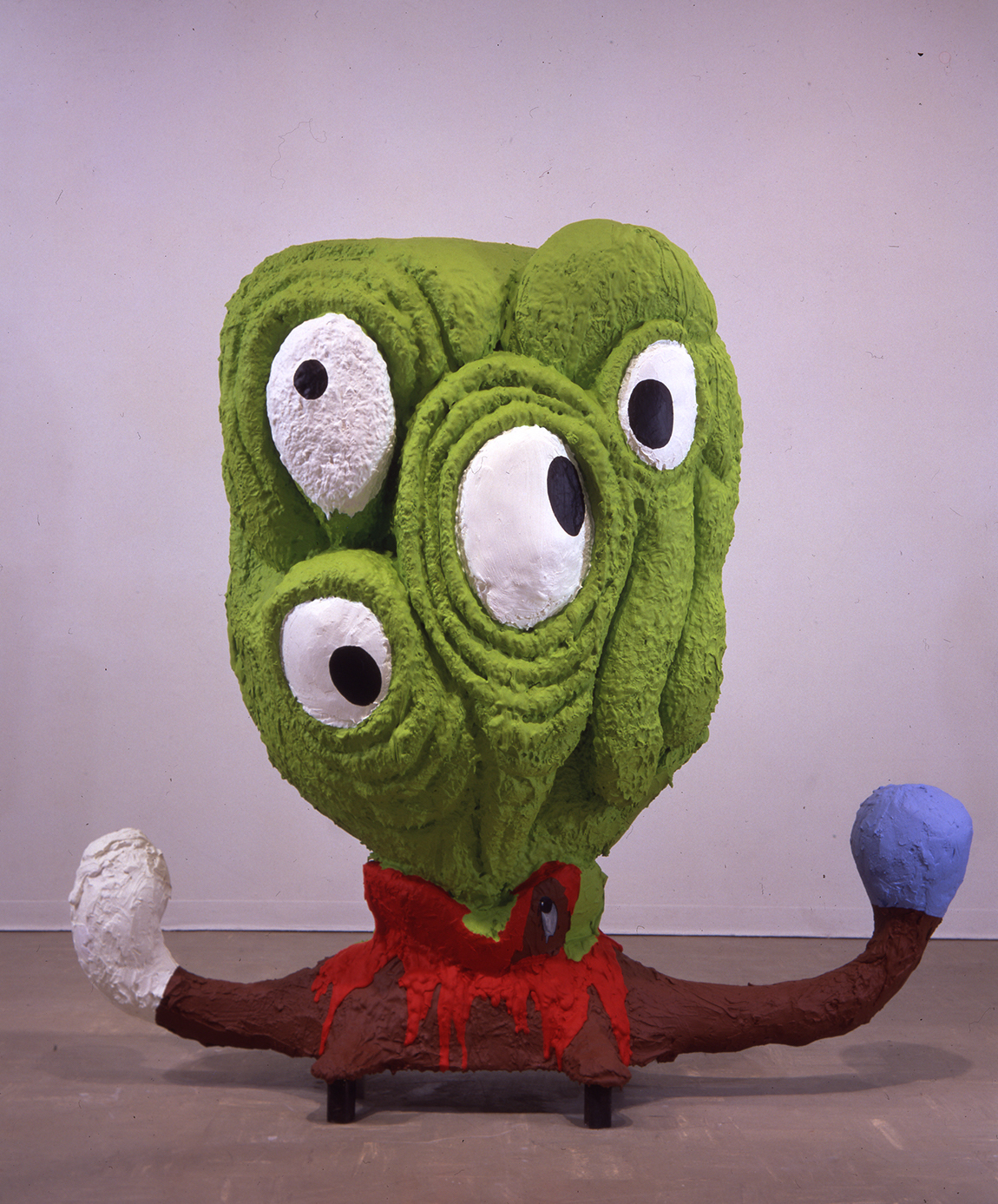 Victor Estrada, Happiness, 1994-1995,Foam, plaster and paint.